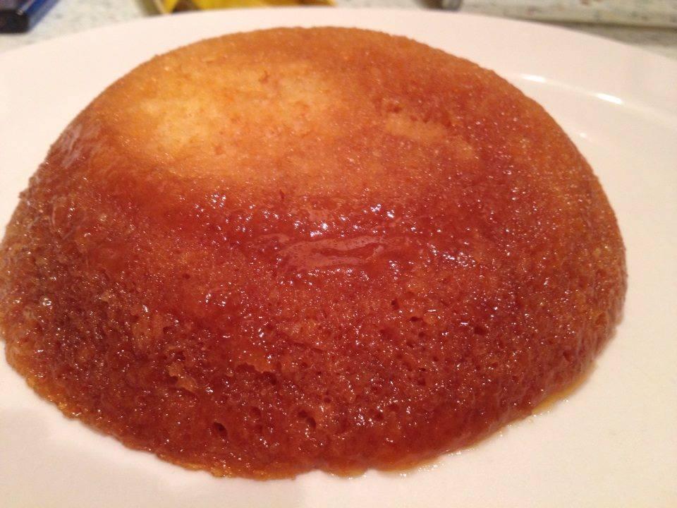 3 Minute Micro spongePudding.
